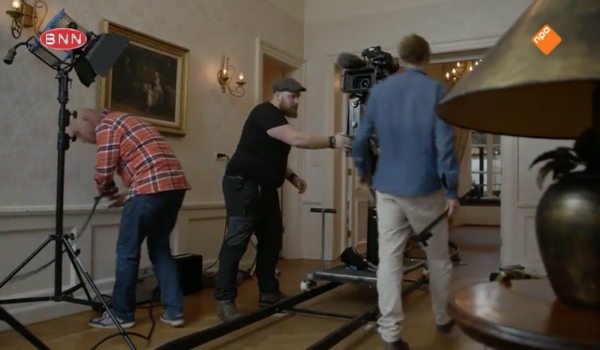 Behind The Scenes – TV show filming us